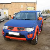 Mitsubishi L200 Blue-Orange