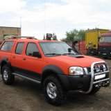 Nissan NP300 Orange-Black
