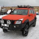 Toyota Land Cruiser 120 orange-black - TLC Prado 120
