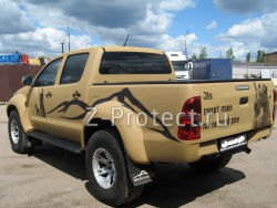Hilux Arctic Trucks - Hunting dog from Neklen